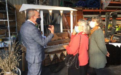 Visite de Nicole Dubré-Chirat, Députée de Maine-et-Loire